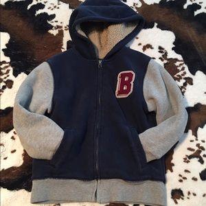 Boys fleece lined hoodie